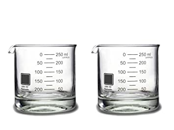 periodic tableware laboratory beaker rocks glasses