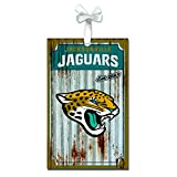 Team Sports America 3OT3814MC Jacksonville Jaguars Metal Corrugate Ornament