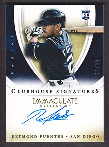 2014 Immaculate Collection Baseball Clubhouse Signatures #12 Reymond Fuentes Auto 26/99 SD - Padres Clubhouse