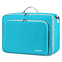 Gonex 20L Lightweight Portable Travel Duffel BagThis Gonex 20L Lightweight Portable Travel Duffel Bag can fully satisfy your travelling needs. Premium quality nylon fabric is lightweight, durable and tear-resistant. Multiple pockets and 3 car...
