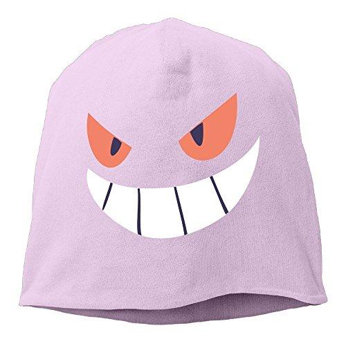 Gengar Halloween Face Men & Women Hip-Hop Beanie Skull Cap -