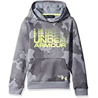 Under Armour Boys Rival Wordmark Hoodie