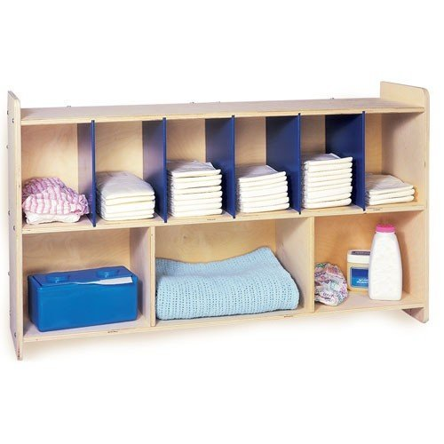 Overhead Changing Table Wall Storage