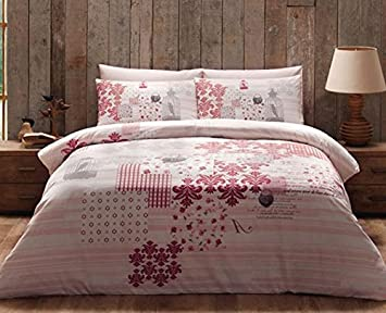 Bettwäsche Bettbezug Bettgarnitur Kissen Decke Bezug Nevresim Baumwolle