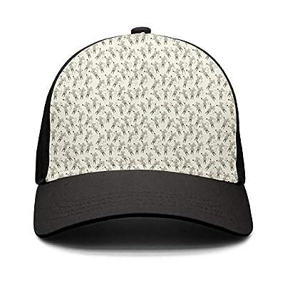 Wlpjsjkd Unisex Cute mice Funny Baseball Hats