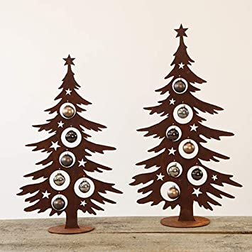 Tannenbaum Edelrost.Weihnachtsbaum Zum Dekorieren 150 Cm Tannenbaum Tanne Christbaum