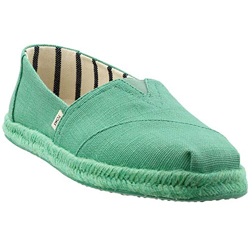 - TOMS Women's Alpargata on Rope Winter Green Canvas On Mono Rope 8.5 B US