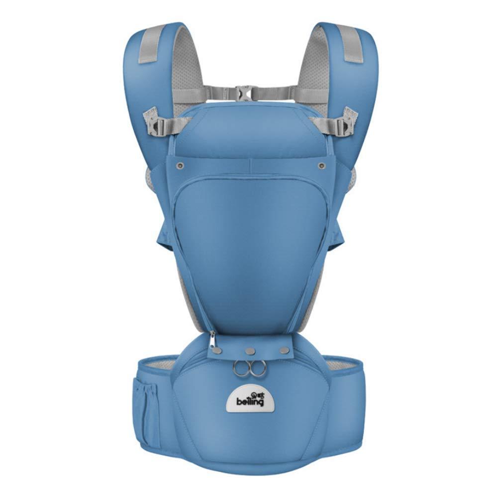 ZLMI Baby-Schlinge Multi-Funktions-Kindersitz-Schemel-Breathable Vordere Umarmung Schulter-Bügel