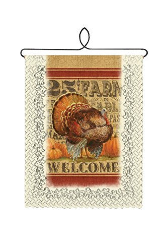 (Heritage Lace Cafe Turkey Welcome Wall Hanging, 12