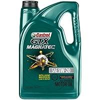 Castrol 03063 GTX MAGNATEC 5W-20 Full Synthetic Motor Oil, 5 Quart