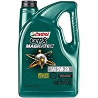Castrol 03063 GTX Magnatec 5W-20 Motor Oil (5-Quart)
