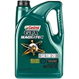 Castrol 03063 GTX MAGNATEC 5W-20 Full Synthetic Motor Oil, 5 Quart