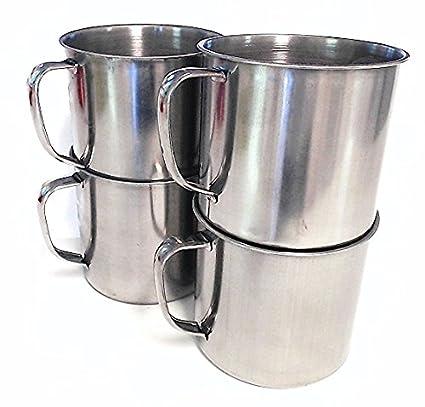 Amazon.com: TAZAS DE CAFÉ tazas de sopa con mosquetones de ...