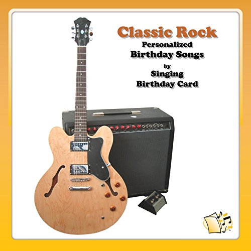 Happy Birthday Brent Classic Rock By Singing Birthday Card On