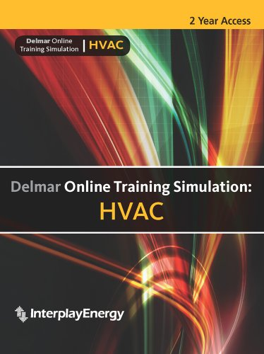 - Delmar Online Training Simulation: HVAC, 4 term (24 months) Printed Access Card
