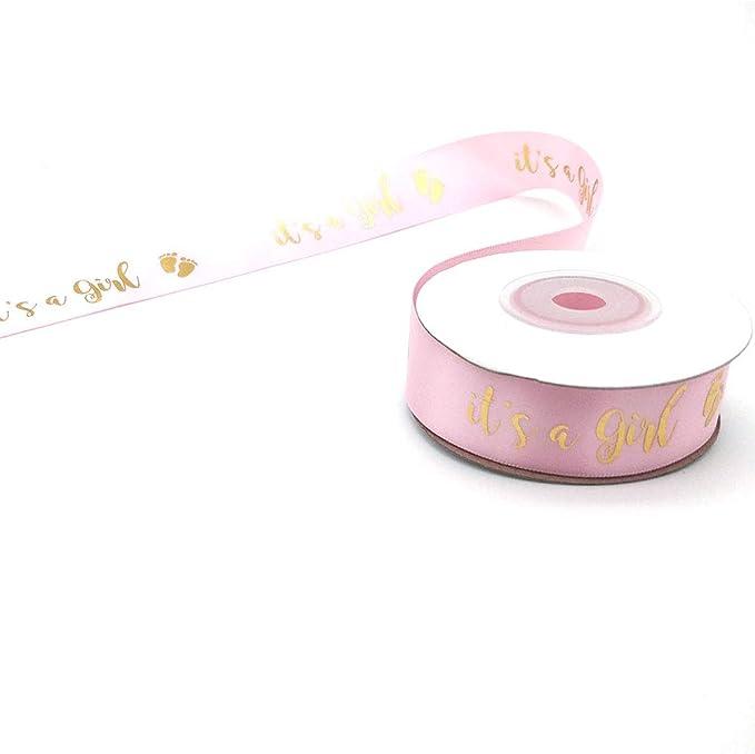 24-Pack Small Pastel Morex Ribbon Bobbin Ribbon for Scrapbooking Welcome Baby