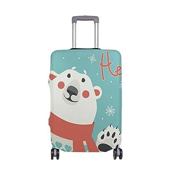 Amazon.com: Bolsa de viaje con diseño de oso polar, ligera ...