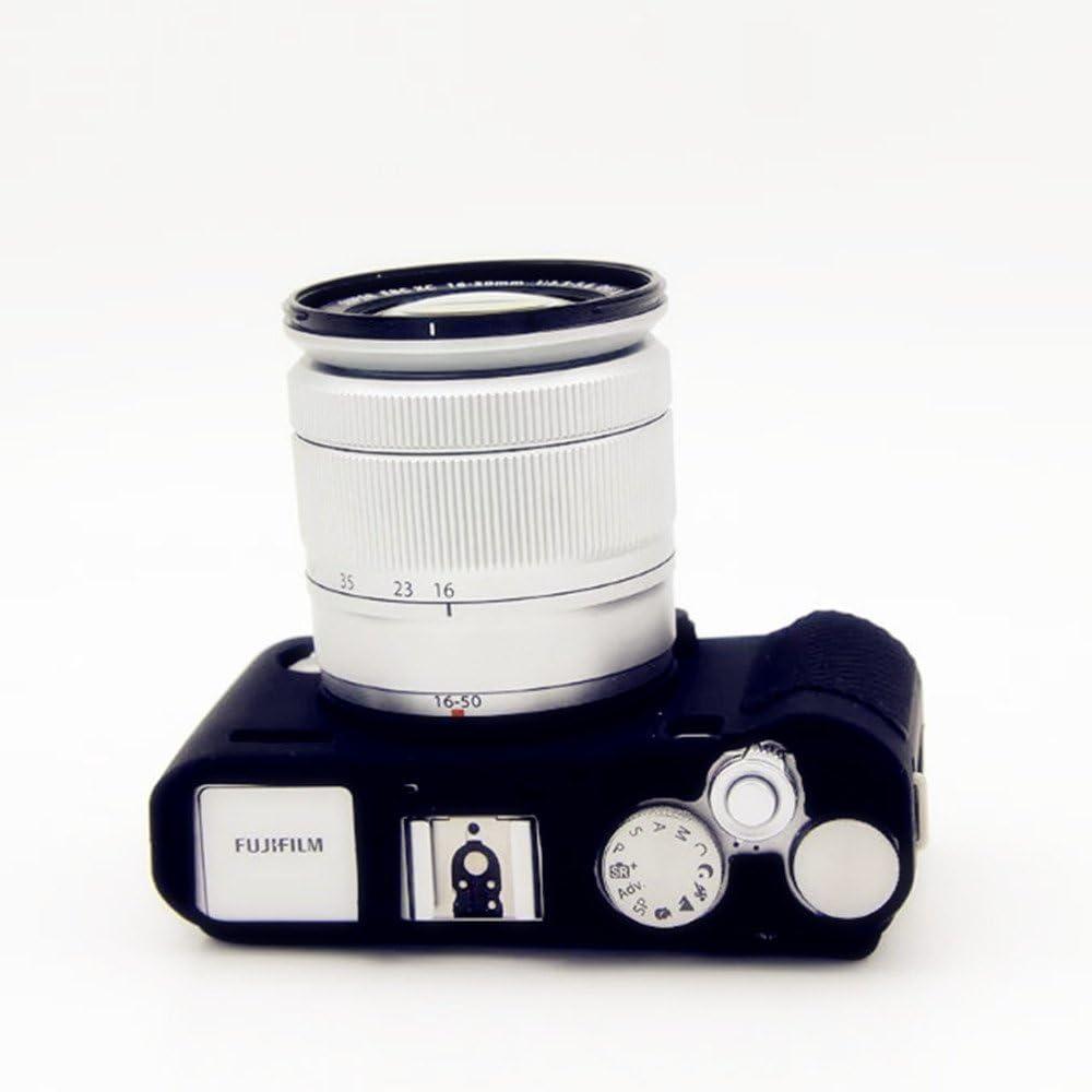 YingGe Funda protectora de silicona protectora para cuerpo de c/ámara Fujifilm X-A3