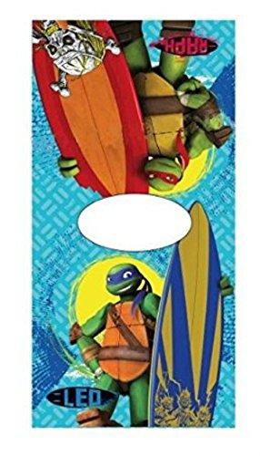 Algodón con capucha Tortugas Ninja tamaño 50 x 100 cm Poncho ...