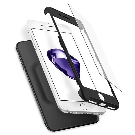 brand new 710c6 68efa Spigen Thin Fit/Air Fit 360 Case Designed for iPhone 7 Plus - Black  043CS21101
