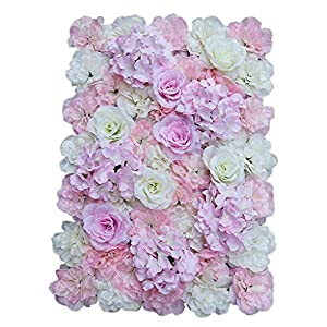 Flameer Artificial Silk Flower Mat Wall Wedding Event Backdrop Decor for DIY Centerpieces Arrangements Party Home Floral Decorations 7
