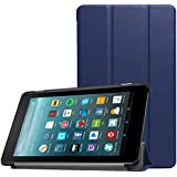 ProCase All-New Fire 7 Case 2017, Slim Stand Hard Shell Case Smart Cover for All-New Fire 7 Tablet(2017 Release) -Navy