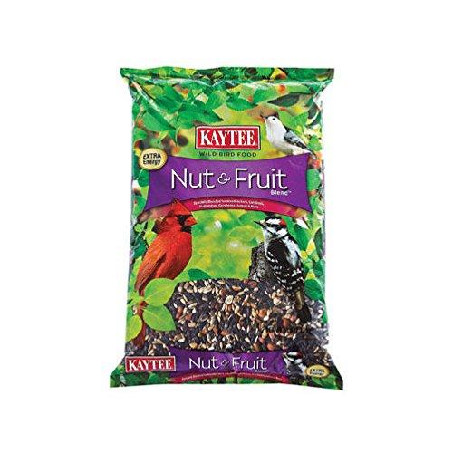 Kaytee Nut & Fruit Wild Bird Food Cherries,Peanuts,Raisins,Safflower,Striped,Striped ()