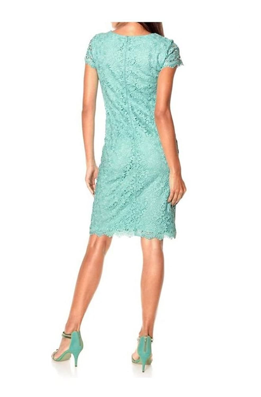 Ashley Brooke Women's Cut-Out Short Sleeve Dress green green One size