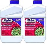 Bonide Chemical 443 (4408 Line) QT Eight Vegetable Fruit and Flower Spray, 32 fl oz, 2 Pack