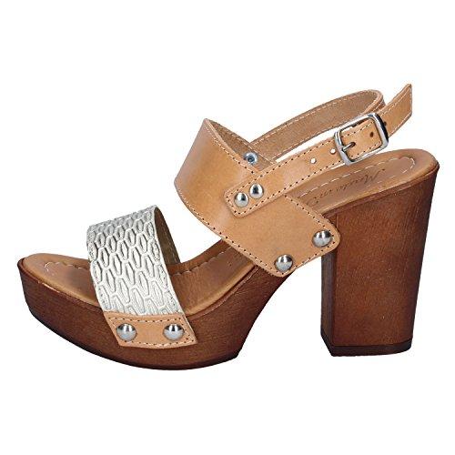 Made pour femme argent Italy en In Sandales cuir 8XnqrY8Tz