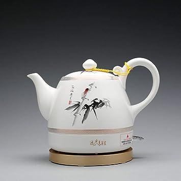 Caldera eléctrica de cerámica Estufa de té eléctrica de Kungfu Tetera eléctrica de Gran Capacidad Aislamiento