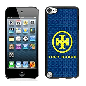 Unique iPod Touch 5 Screen Case ,Popular And Durable Designed Case With Tory Burch 1 Black iPod Touch 5 High Quality Phone Case