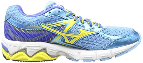 Mizuno Palace Wave Connect Grotto Women's Blue Running Shoes 3 Buttercup SSOprwAxq