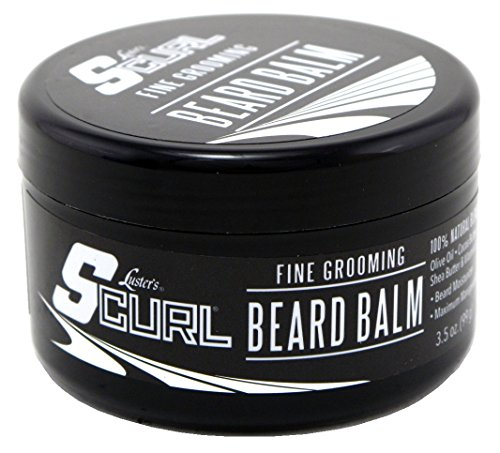 Lusters S-Curl Beard Balm 3.5 Ounce (103ml) (2 Pack)