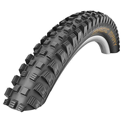 SCHWALBE Magic Mary Folding Bead Snake Skin Tire, 27.5 x 2.35-Inch (Best Mtb Tires For Rocky Terrain)