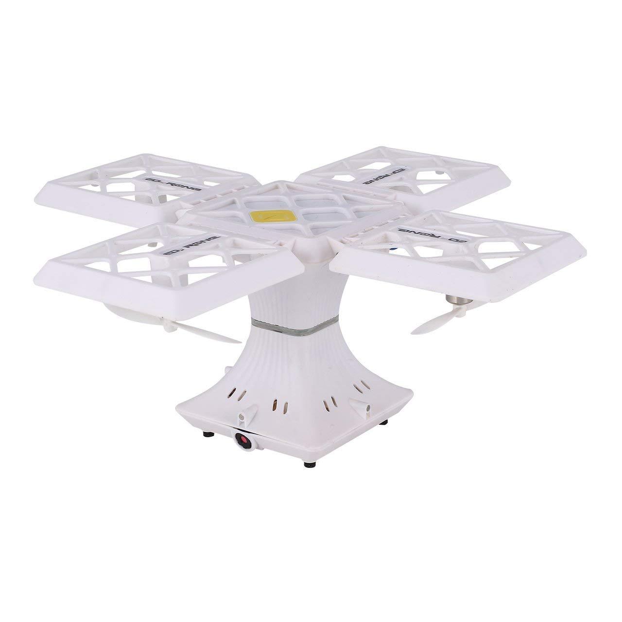 Jasnyfall 414 Selfie FPV Faltbare RC Drone Höhe Halten 720P WiFi Kamera 3D Flips - Weiß