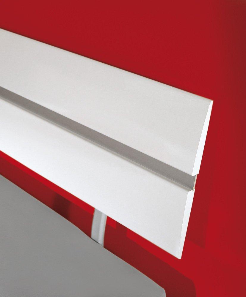 Link 55100140 Bett Blanka MDF 140 x 200 cm wei? hochglanz: Amazon.de ...