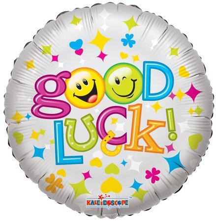 Good Luck Smiles 18 Inch Mylar Balloon (5 Pack)