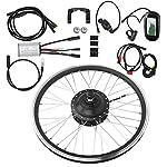 51WU61XlNCL. SS150 VGEBY 36V 250W 27,5 Pollici KT-LCD6 Display Meter Mountain Bike Kit di conversione Ruota Elettrico Elettrico Accessorio…
