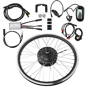 51WU61XlNCL. SS300 VGEBY 36V 250W 27,5 Pollici KT-LCD6 Display Meter Mountain Bike Kit di conversione Ruota Elettrico Elettrico Accessorio…