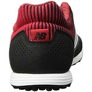 New Balance Men's Audazo 2.0 Pro TF Soccer Shoe, Black/Red, 10.5 2E US