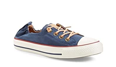 Converse Chuck Taylor All Star Shoreline Navy/Biscuit/Egret Lace-Up Sneaker  -