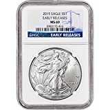 2015 American Silver Eagle $1 MS69 - Early Releases NGC