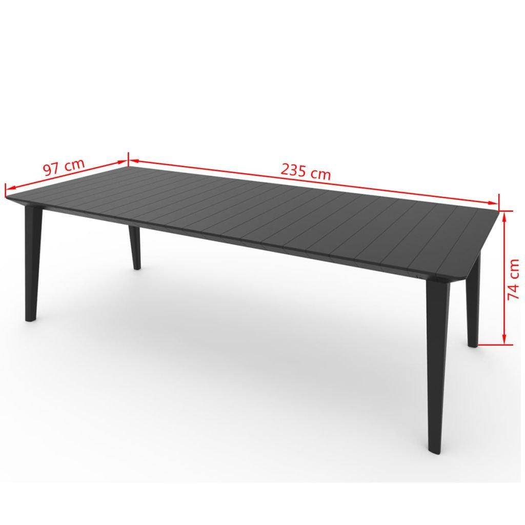 CAPALDO Allibert Table Lima Extensible Extensible 98 x 160 ...