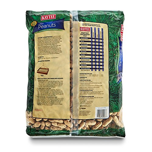 Image of Kaytee Peanuts In Shell For Wild Birds, 5-Pound