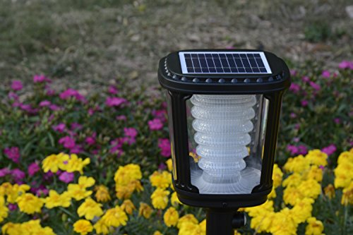 Asklan Solar Led Post Torch Light for Pathway Garden Walkway Driveway Entryway Yard – ALS 2.0 and TCS Technology–Ternary Lithium Ion Technology – Smart PIR Motion Detector – Aluminum Waterproof IP65 by Asklan Solar (Image #4)
