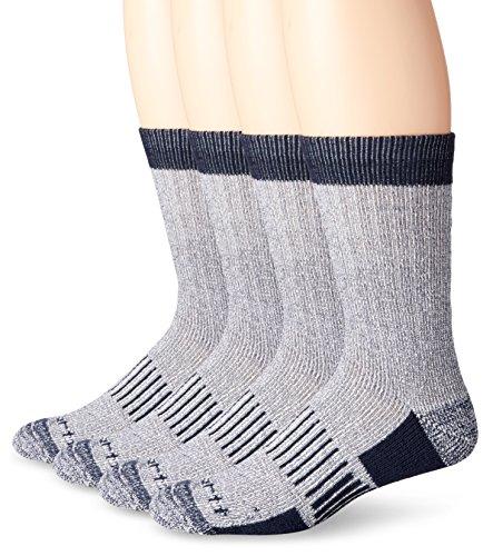Carhartt Men's A118-4 All Season Work Socks,(Pack of 4)