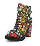 Jeffrey Campbell Womens Lilith-2 New Floral Combo Boot - 7.5 | amazon.com