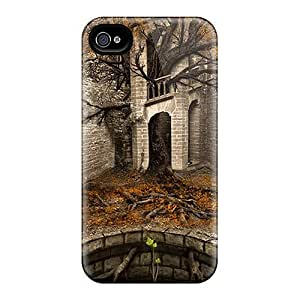 New Premium LauraKrasowski Temple Tree Skin Cases Covers Excellent Fitted For Iphone 6