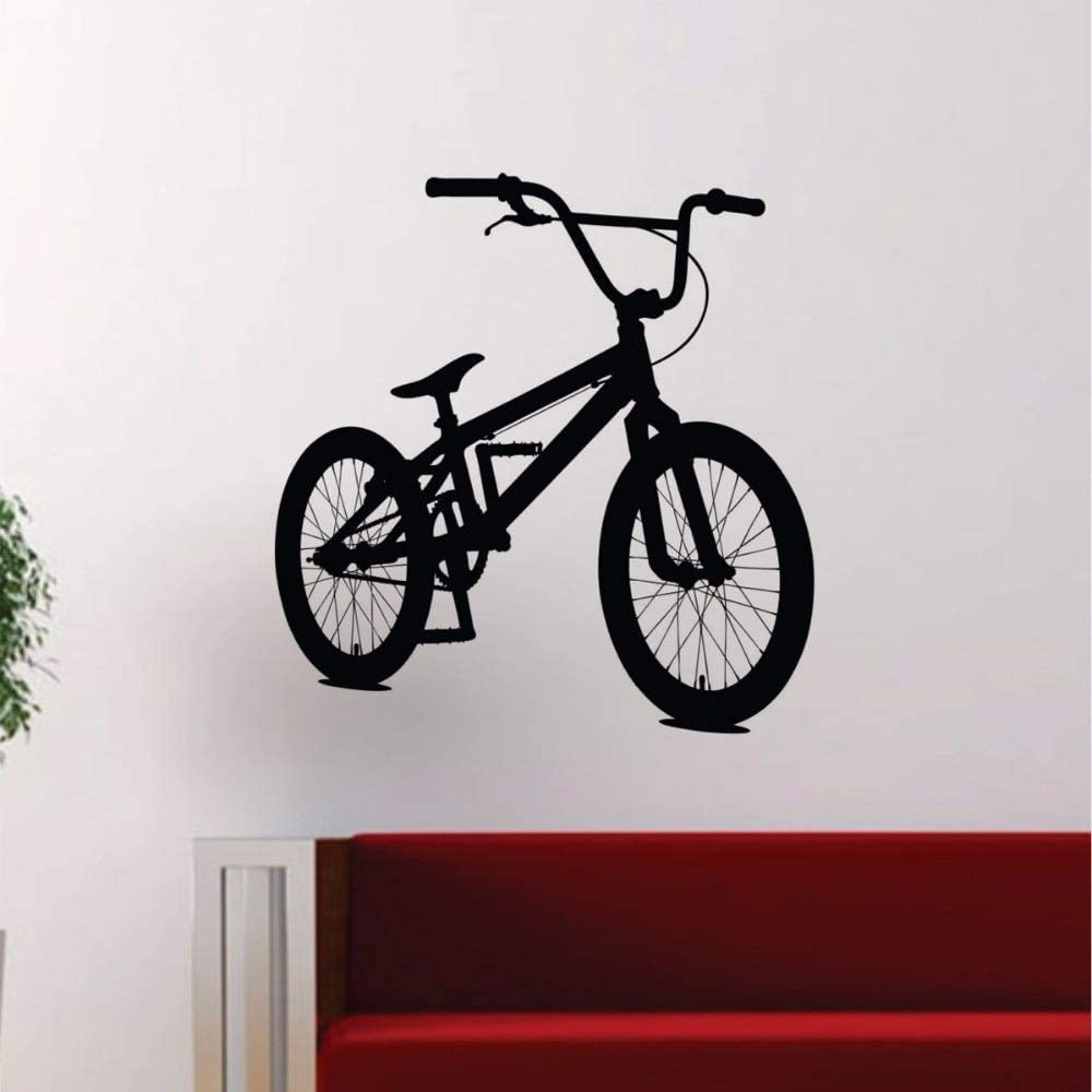 pegatina de pared 3d BMX Biker For Kids Rooms Niños Chicas Sala de ...